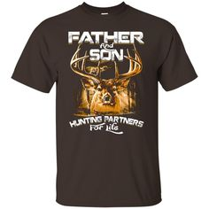 Father's Day T-shirts Father & Son Hunting Partners For Life Shirts Hoodies Sweatshirts Father's Day T-shirts Father & Son Hunting Partners For Life Shi
