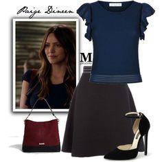 "Paige Dineen ""Something Burrowed, Something Blew"" - 3x23"