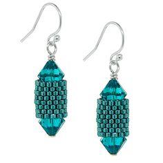 Poseidon Earrings | Fusion Beads Inspiration Gallery