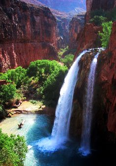 Havasupai Falls | Arizona (by Nate Rose)