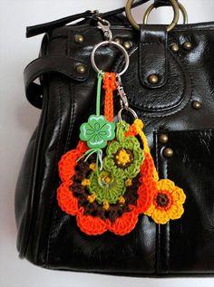 62 Easy Handmade Fun Crochet Pattern Keychains | DIY to Make