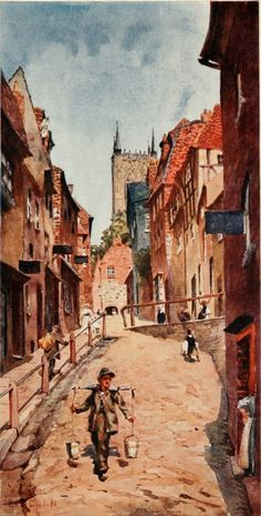 lincoln_the_steep_hill.jpg (Image of Lincoln England, Lincoln Uk, The Visitors, Cathedral, Travel Destinations, Places To Visit, Adventure, History, City