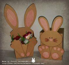 Bella´s Bastelecke: Bunny fry box and Bunny Candy dispenser