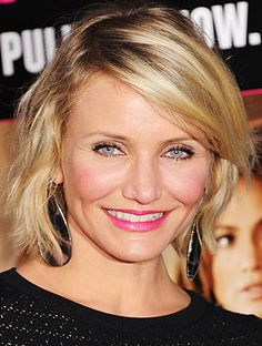 cameron diaz bob hairstyle   Cameron Diaz's Bob: Most-Requested Haircut in Greenwich, CT   InStyle ...