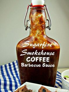 Want to Unlock the Flavor in Your Barbecue? There's nothing like a great Vinegar-based BBQ sauce to do it. Homemade Bbq Sauce Recipe, Barbecue Sauce Recipes, Barbeque Sauce, Rub Recipes, Bbq Sauces, Coffee Sauce Recipe, Relish Recipes, Milk Recipes, Barbecue
