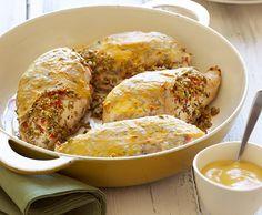 Mustard Crusted Roast Chicken   Lindsay