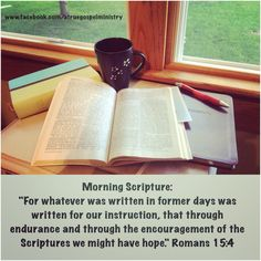 Morning Scripture: For whatever was written in former days was written for our instruction, that through endurance and through the encouragement of the Scriptures we might have hope.. #morningscripture #scripturequote #biblequote #instabible #instaquote #quote #seekgod #godsword #godislove #gospel #jesus #jesussaves #teamjesus #LHBK #youthministry #preach #testify #pray #hope #love #endurance #encouragement