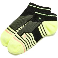 STANCE Athletic Flortex Low Socks (800 INR) ❤ liked on Polyvore featuring intimates, hosiery, socks, striped socks, stripe socks, low socks, bright socks and ankle high socks