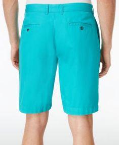 "Lacoste Men's 10"" Bermuda Shorts - White 30"