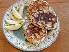 These apple cider pancakes are such a tasty fall breakfast.