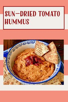 Sun Dried Tomato Hummus, Dried Tomatoes, Gluten Free Recipes, My Recipes, A Food, Food Processor Recipes, Homemade Hummus, Food Words, Recipe Ratings