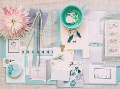 Mood board / Styling: Holly Becker / Photography: Close Focus Studios Business Branding, Mood Colors, Wie Macht Man, Cute Diys, Inspiration Boards, Fashion Branding, Good Mood, Mood Boards, Cool Designs