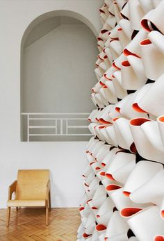 Handcrafted interior textiles is a branch of design that London-based Finnish…