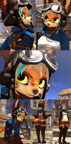 Nyox #secondlife #furry