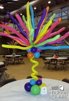 Balloons by Tommy - Photo Gallery - Centerpieces