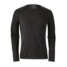 Patagonia VTG 90/'s Black Midweight Capilene Tortoise Top Mens Shirt XL USA