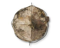 Talya Baharal: Residue Brooch. Fabricated of sterling silver, iron, steel and copper.