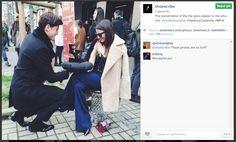 In occasione della Fashion Week milanese,  Shoescribe.com ha lanciato il concorso #SeekingCinderella. Le cenerentole più fortunate (con il numero giusto!) hanno vinto le scarpette. Voto 10 al team di Shoescribe e ai principi azzurri :-)