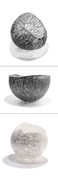 Henriette Tomasi, silversmithing, silver 925/000, vessels, D