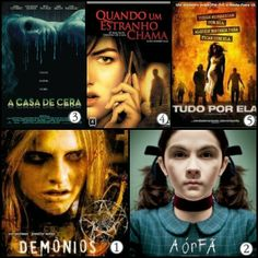 Mais Íntimo: Top 5: Filmes de terror!