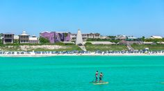 The beach ranked 5th on this list. Yeah, there is that much to do in Seaside, Florida. No trip down 30A is complete without a stop in this iconic South Walton community. Stuff To Do, Things To Do, Good Things, Seaside Florida, Find People, The Dunes, Paddle Boarding, Paths, Coastal