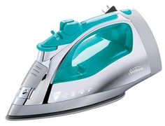 Sunbeam Steam Master 1400 Watt Large Anti-Drip Non-Stick Stainless Steel Soleplate Iron with Variable Steam Control Steam Iron Reviews, Best Steam Iron, Best Iron, Iron Steamer, How To Iron Clothes, Laundry Room Organization, Organization Ideas, Steel House, Small Laundry