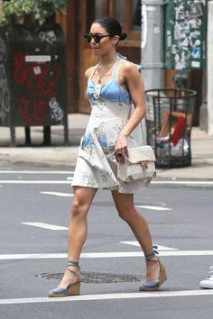 10 LOOKS DA VANESSA HUDGENS (DE NOVO!) - Fashionismo