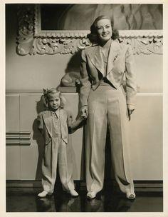 Joan Crawford & Daughter Christina Photos Hurrell