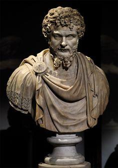 Septimius Severus . Medium: Marble. Date: ca. A.D. 200 Provenance: Vienna, Museum of Art History (Kunsthistorisches Museum)