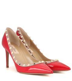Rote Pumps Rockstud aus Lackleder By Valentino Schuhe Frauen, Lackpumps,  Pumpenschuhe, Schuhe Sandalen ba24c54073