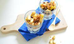 Op zoek naar een lekker ontbijtje of dessert? Bekijk dan eens dit recept voor een gezonde appel-kaneel trifle. Super lekker en simpel!