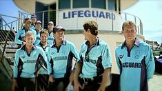 Just healthy. Take a look at what the popular show Bondi Rescue is all about