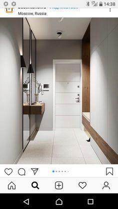 Diy home decor Diy home decor Hallway Furniture, Entryway Decor, Modern Interior Design, Interior Design Living Room, Home Decor Styles, Diy Home Decor, Flur Design, Design Design, Design Ideas