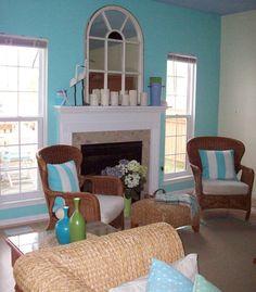 Aqua Family Room