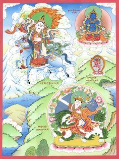 Achi Chokyi Drolma, a protector who arose specially to protect the Drikung Kagyu order #tibet #tibetan #tibetanart #spiritual #spirituality Tibetan Art, Tibetan Buddhism, Buddhist Art, Buddhist Wheel Of Life, Buddhist Traditions, Thangka Painting, Deities, All Art, Buddha