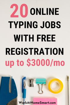 Looking for legit online typing jobs to make money? Grab this list of 20+ work from home typing jobs that pay well. Work From Home Typing, Work From Home Jobs, Online Typing Jobs, Earn Money Online, Investing, How To Make Money, Type, Make Money Online, Earn Extra Money Online