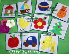 Excited to share the latest addition to my #etsy shop: PDF Sewing Pattern 2 piece Jigsaw Puzzles Baby Sewing Pattern Quiet Book Felt Toy Soft Toy PDF Baby Gift Felt Pattern http://etsy.me/2iYPfl8 #materialy #ite #pdfsewingpattern #jigsawpuzzles #babysewingpattern #quie