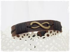 Hey, I found this really awesome Etsy listing at https://www.etsy.com/listing/162142215/mens-infinity-bracelet-infinity-leather