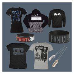 """""""Panic! At The Fall Out Romances. Ft Dan and Phil"""" by kelly-breniser on Polyvore"""
