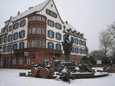 Kaiserslautern, Germany - laternchen, laternchen, sonne, mond, und sternchen; brenne aus mein licht, brenne aus mein licht, aber nur mein liebes latternchen nicht