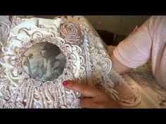 """Sweet Rose"" Fabric Journal - YouTube"
