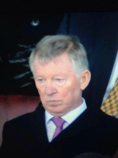 Hmmph! SAF's reaction to Manchester United's loss to Liverpool ,0-3 ! Priceless :p