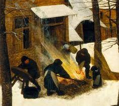 The Hunters in the Snow (detail), 1565 Pieter Bruegel the Elder Hunters In The Snow, Pieter Bruegel The Elder, Paint Photography, Barnyard Animals, Expressive Art, European Paintings, Art For Art Sake, Renaissance Art, Winter Scenes
