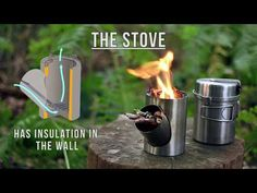 The Kombius is a compact, no-frills outdoor cooking set that includes a pan, a pot/carry container, and a stove that burns sticks, twigs and other biofu...