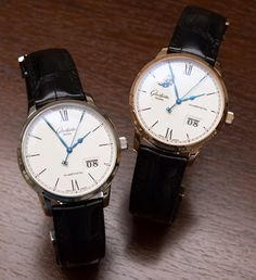 Glashütte Original Senator Excellence Panorama Date & Moon Phase Watches Hands-On Debut Hands-On