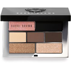 Bobbi Brown Bellini Mini Lip & Eye Palette (€29) ❤ liked on Polyvore featuring beauty products, makeup, eye makeup, eyeshadow, beauty, cosmetics, accessories, silver sparkle eyeshadow, sparkle eye shadow and silver eye makeup