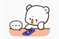 The perfect MilkAndMocha Wait Waiting Animated GIF for your conversation. Discover and Share the best GIFs on Tenor. Cute Bear Drawings, Cute Couple Drawings, Cute Cartoon Drawings, Cute Love Pictures, Cute Love Gif, Cute Cat Gif, Cute Hug, Cute Kiss, Love Cartoon Couple