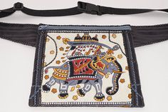 Elephant bag hip bag waist bag belt bag fanny pack travel