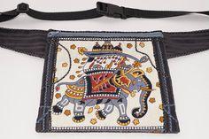 Elephant bag hip bag waist bag belt bag fanny pack travel