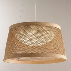 Check out Fiber Weave LED Indoor/Outdoor Pendant - Medium from Shades of Light